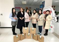 山东兆通网络科技有限公司为女同事送惊喜